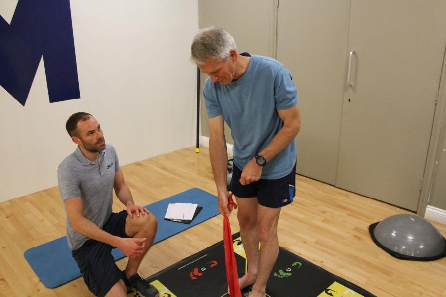 Injury treatment session in Shrewsbury, Shropshire