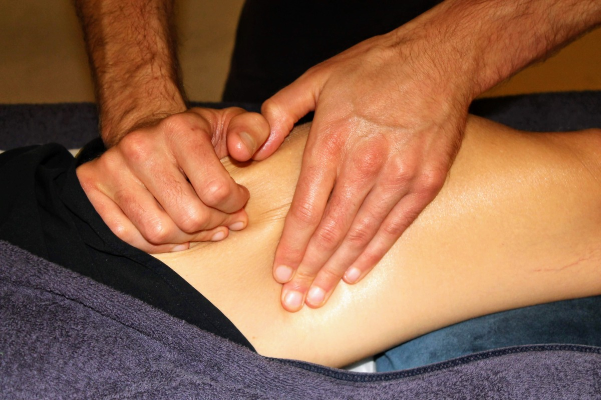 Injury treatment session in Shrewsbury, Shropshire