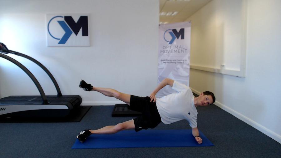 Side Lying Plank Exercise